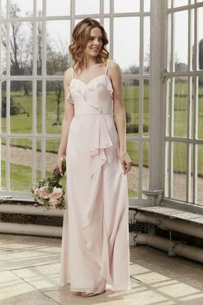 Blush Bridesmaid Dress, Hotfrox, Evening Dress